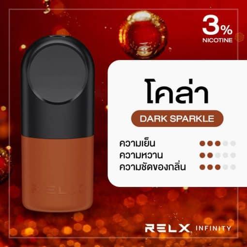 RELX Infinity Pod Flavor Dark Sparkle Cola