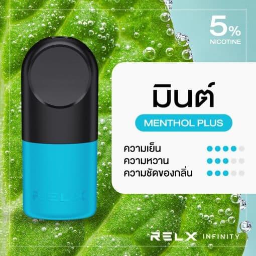 RELX Infinity Pod Flavor Menthol Plus Mint