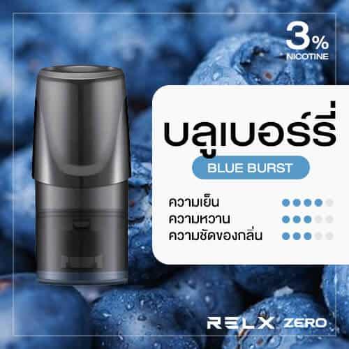 RELX Zero Classic Pod Flavor Blue Burst Blueberry