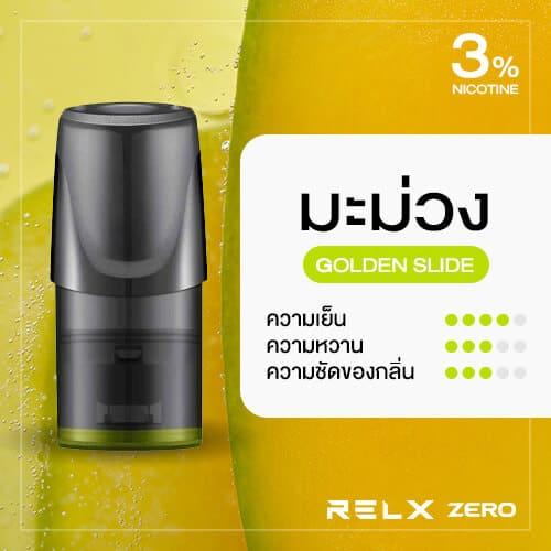 RELX Zero Classic Pod Flavor Golden Side Mango